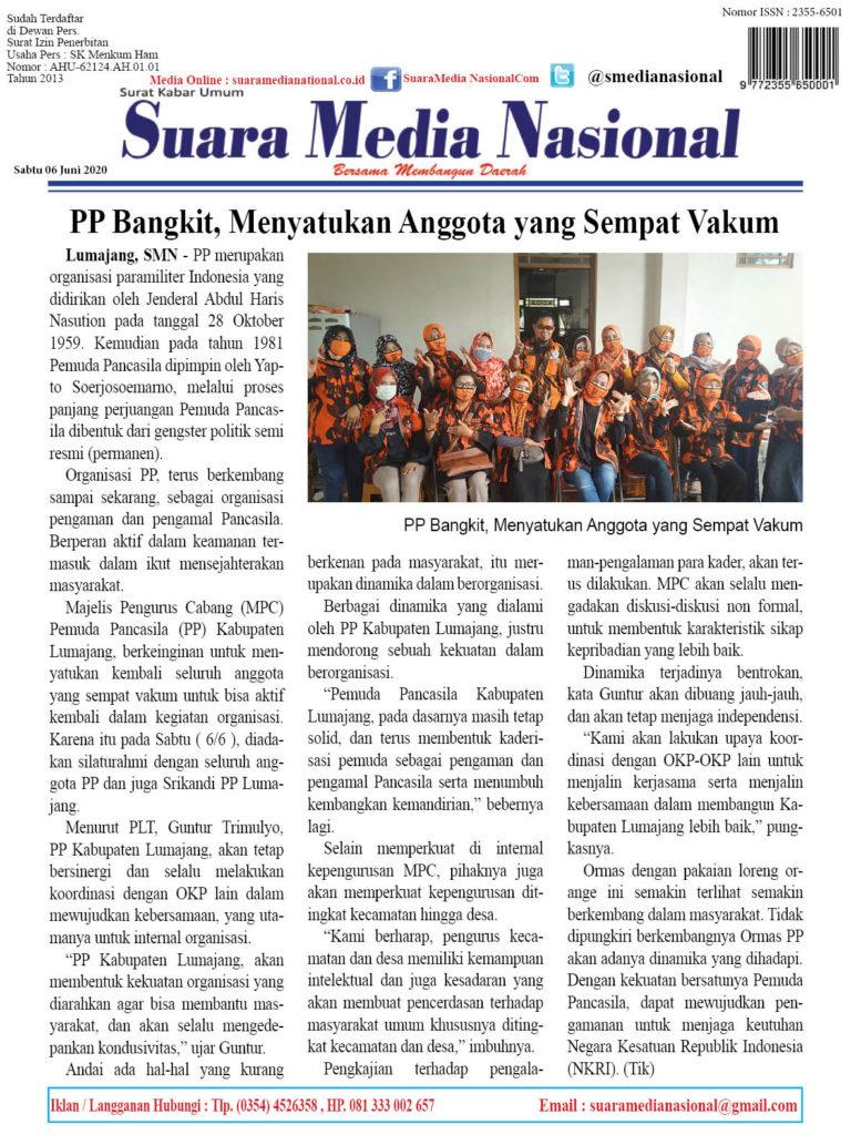 PP Bangkit, Menyatukan Anggota yang Sempat Vakum