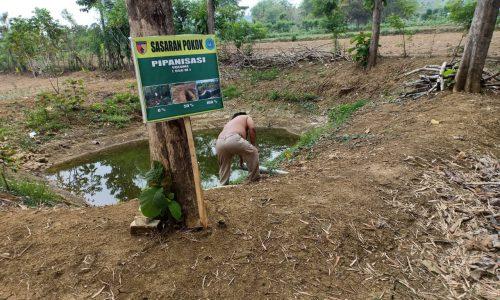 Basuki Sudah Mulai Manfaatkan Embung Pertanian
